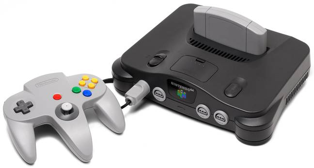 The N64 is 25 years old. (Wikimedia Commons)