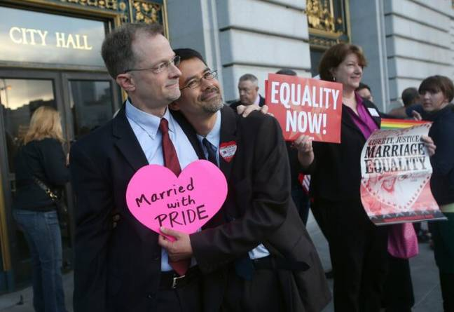 Gay marriage (PA Images)