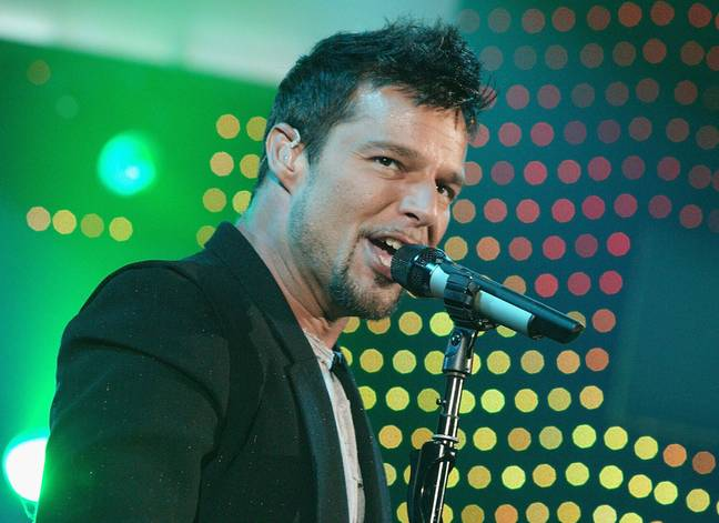 Ricky Martin on stage (PA Images)