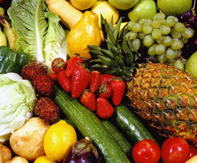 fruit and veg (PA Images)