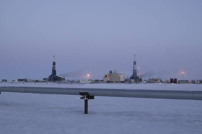 Oil Drilling (PA Images)