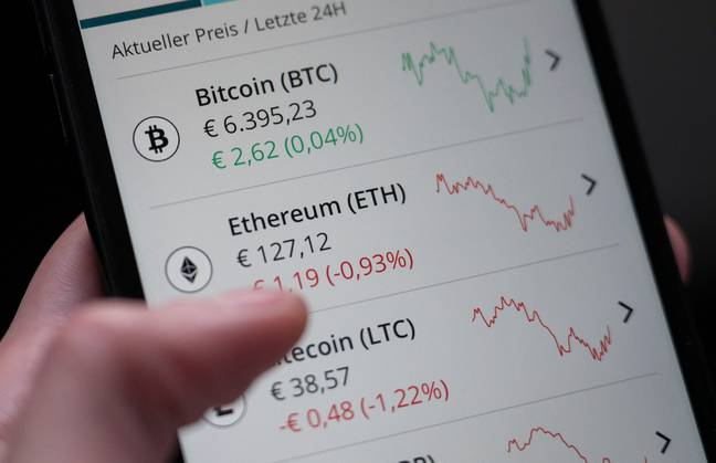 cryptocurrency (PA Images)