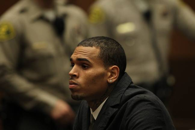 Chris Brown has faced several previous charges for assault (PA Images)