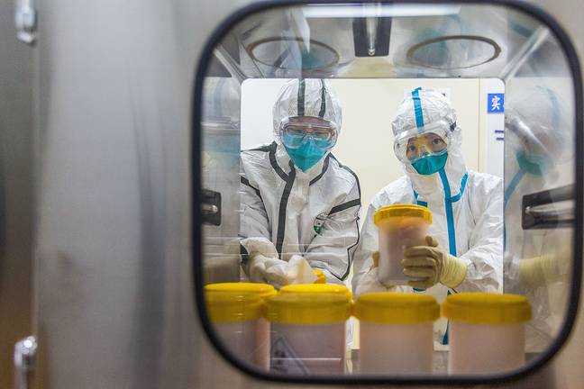A theory alleges the virus leaked from a lab in China. (PA Images)