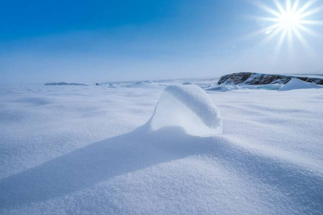 A peak of 30 degrees Celsius was recorded in Siberia (PA Images)