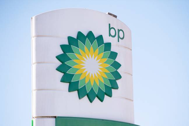BP oil sign (PA Images)