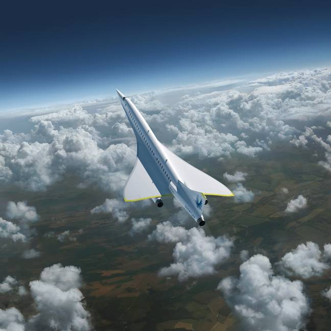 Supersonic jet (PA Images)