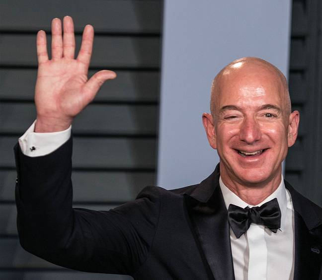 Jeff Bezos will travel to space in July (PA Images)
