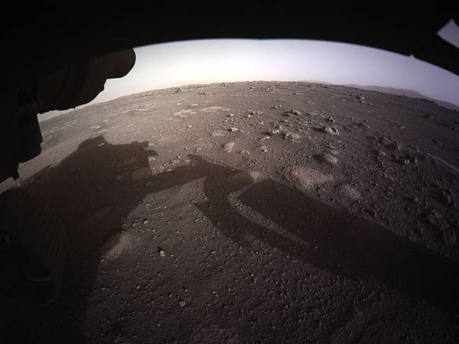Mars rover (PA Images)