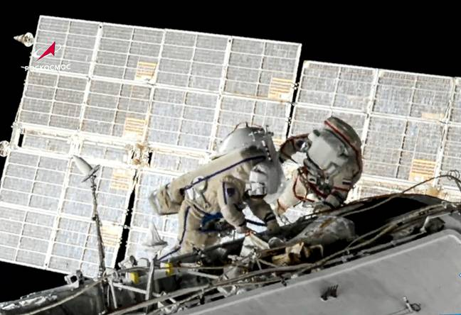 ISS (PA Images)