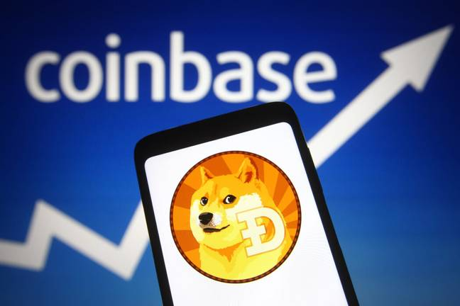 Coinbase will allow Pro users to trade Dogecoin starting June 3 (PA Images)