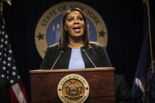 New York State Attorney General Letitia James (PA Images)