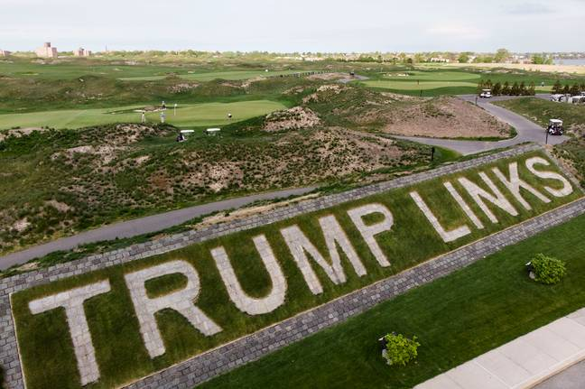 Trump Links golf course (PA Images)