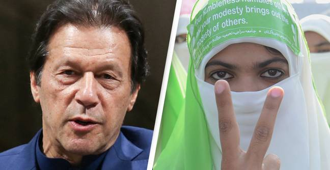 Pakistan Prime Minister Blames Women's Clothes For Country's Rising Number Of Rapes