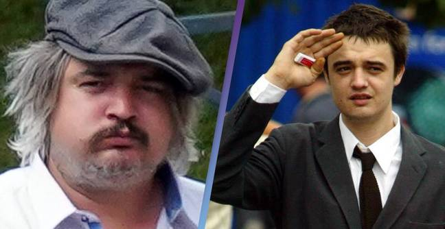Pete Doherty Looks Totally Unrecognisable After Being Spotted In France