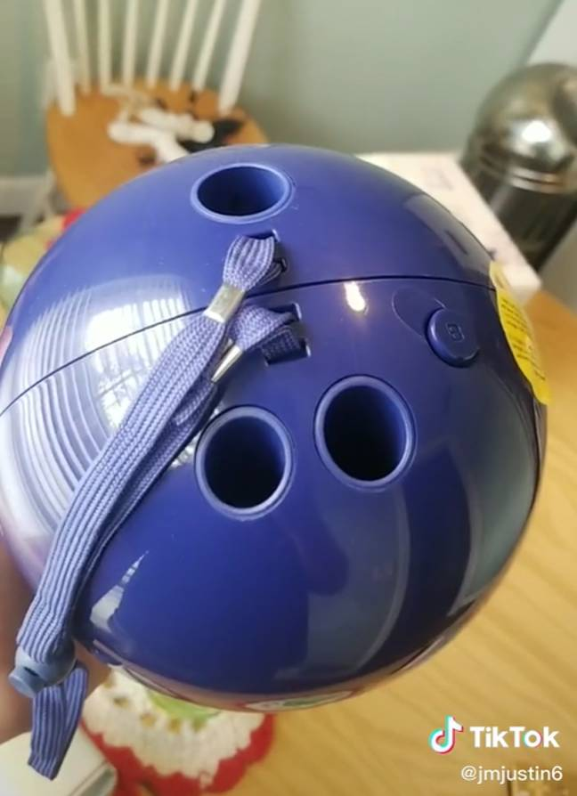 Did you own the Wii bowling ball? (@jmjustin6/TikTok)