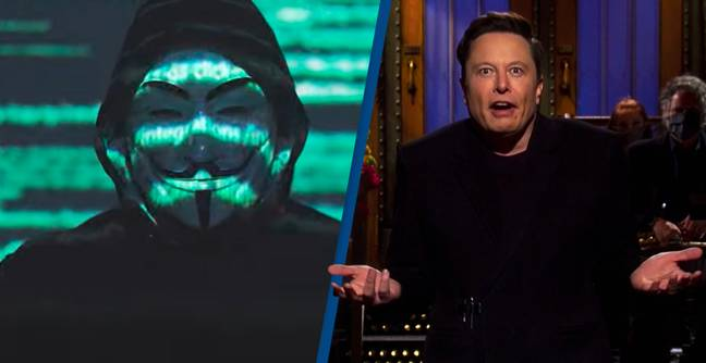 Anonymous Targets Elon Musk For Damaging Crypto Investors' Lives