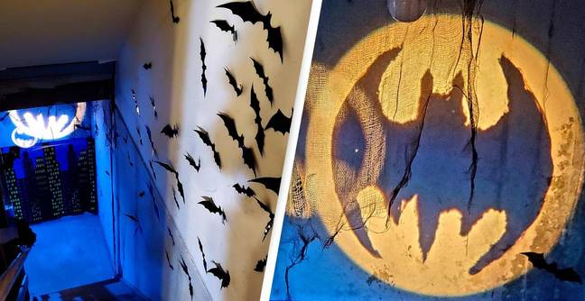 Guy Makes His Girlfriend's Dream Batman Party Come True, And It's Incredible