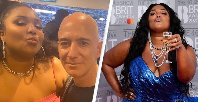 People Are Discovering That Jeff Bezos Is Lizzo's 'Biggest Fan'