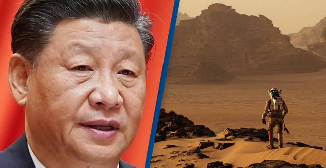 China Announces It Will Put First Humans On Mars Before 2033