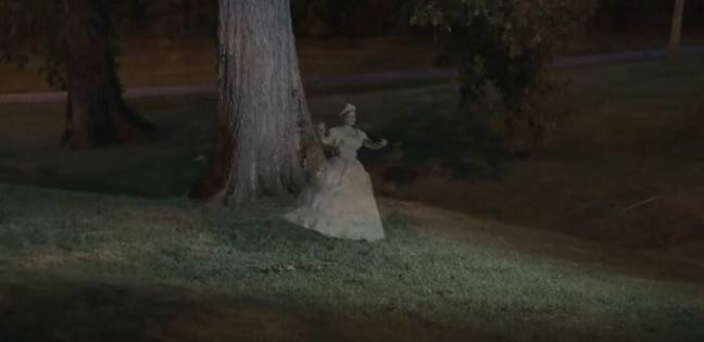 Grave of the Dancing Lady (FOX 56 Lexington/YouTube)