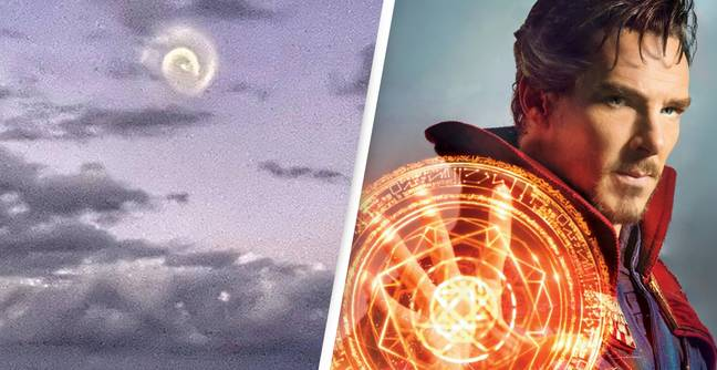 Mysterious 'Dr Strange'-Style Spiral Over The Pacific Identified