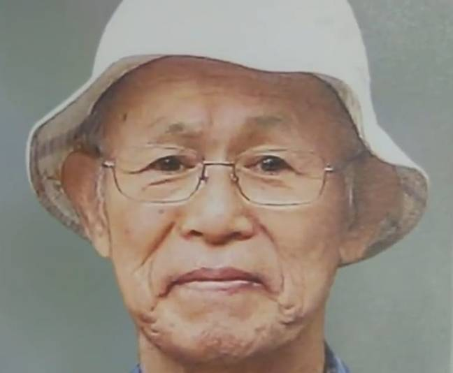 Isao Kakehi died two months after marrying Chisako (TV Asahi)