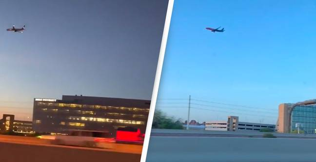 People Are Claiming There's A 'Glitch In The System' After Airplane Spotted Not Moving In Sky