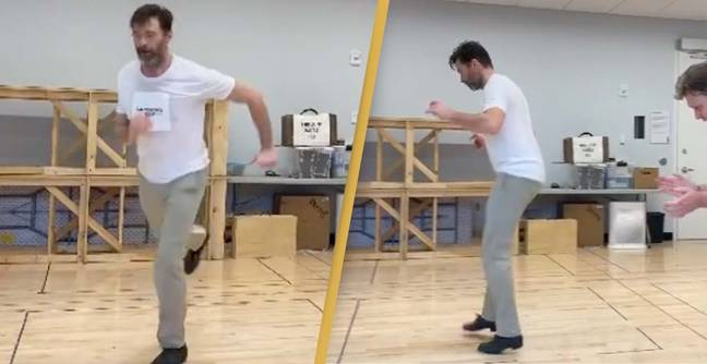 Hugh Jackman Shows Off His Extremely Impressive Dancing Skills
