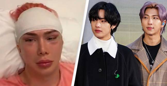 'Transracial' British Influencer Undergoes More Cosmetic Surgery To Look Like BTS Singer