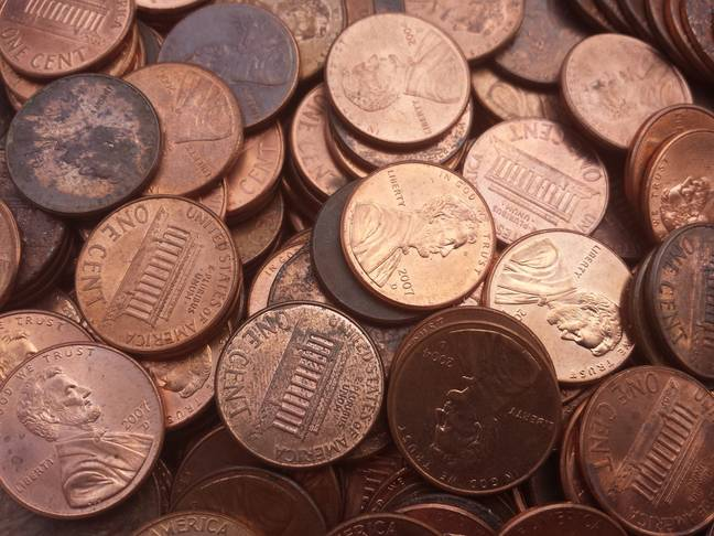 Avery Sanford's father dumped more than 80,000 pennies. (Pixabay)