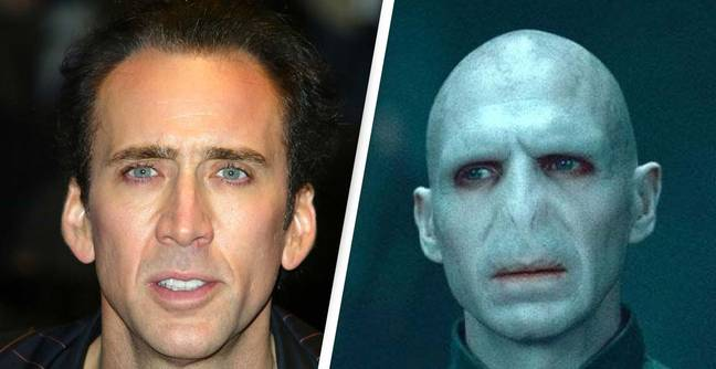 Nicolas Cage As Voldemort Is Giving Ralph Fiennes A Run For His Money