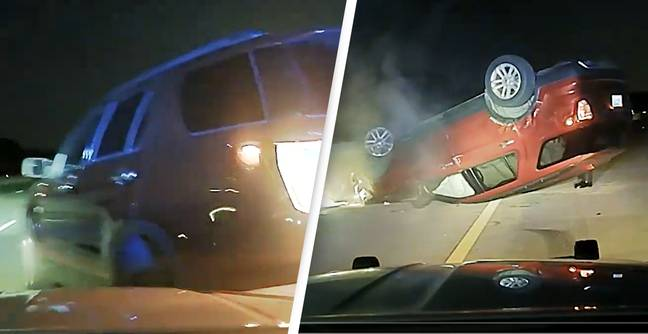 Police Officer Sued For Flipping Pregnant Woman's Car When She Didn't Stop Fast Enough