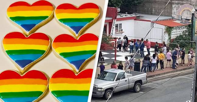 Texas Bakery 'Overwhelmed' With Orders After It Receives Homophobic Backlash For Pride Cookies