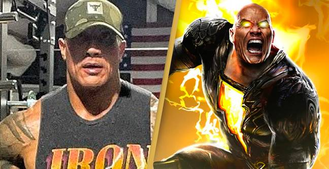 The Rock Shares Intense Training Session As He Transforms Into Black Adam