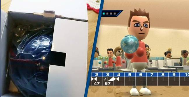 Gamer Shows Off Wii Bowling Ball We Never Knew Existed