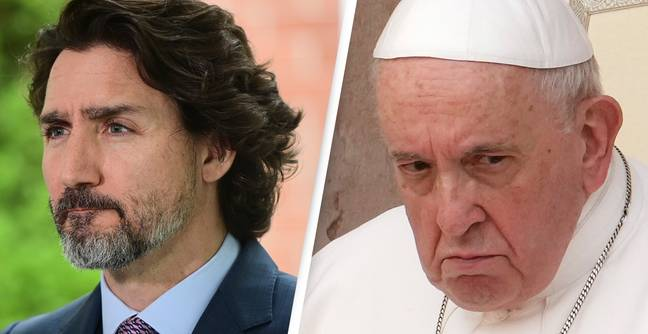 Trudeau Demands Pope Apologise After Nearly 1,000 Indigenous Children's Bodies Found In Canada