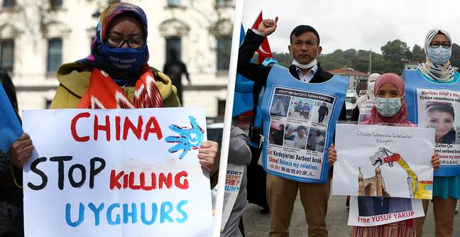China Creating 'A Dystopian Hellscape' In Xinjiang, Amnesty Says