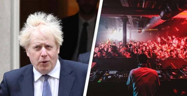 Boris Johnson Says Vaccine Passports Will Be Mandatory For All Nightclubs And Large Events