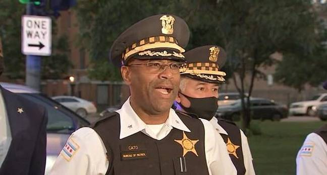 Chicago Police Deputy Chief Ernest Cato ABC7)