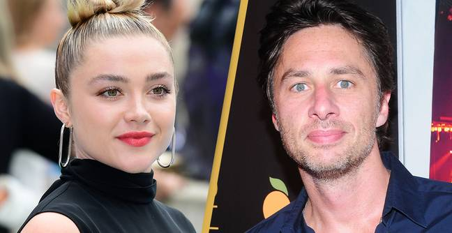 Florence Pugh Defends Relationship With Zach Braff After Receiving Abusive Comments