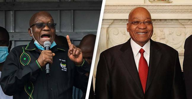 Former South African President Turns Himself In To The Police