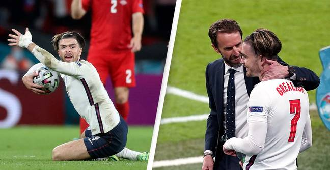 Jack Grealish Accused Of 'Throwing Southgate Under The Bus' With Penalty Tweet