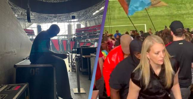 Kanye West Is Living In Mercedes-Benz Stadium Until Donda Is Done