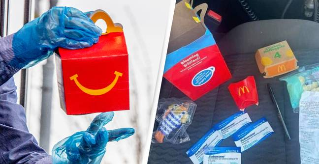 Mum Finds 'Dangerous' Drugs Inside Child's Happy Meal From McDonald's
