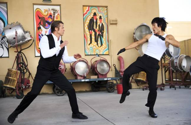 Mike Moh as Bruce Lee in Once Upon A Time... In Hollywood (Columbia Pictures)
