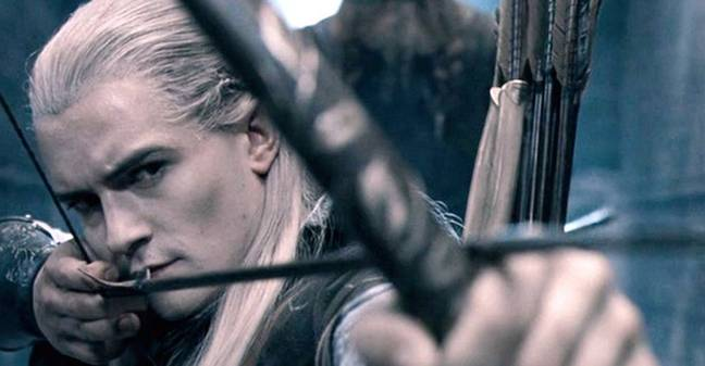 Orlando Bloom in Lord of the Rings. (New Line Cinema)