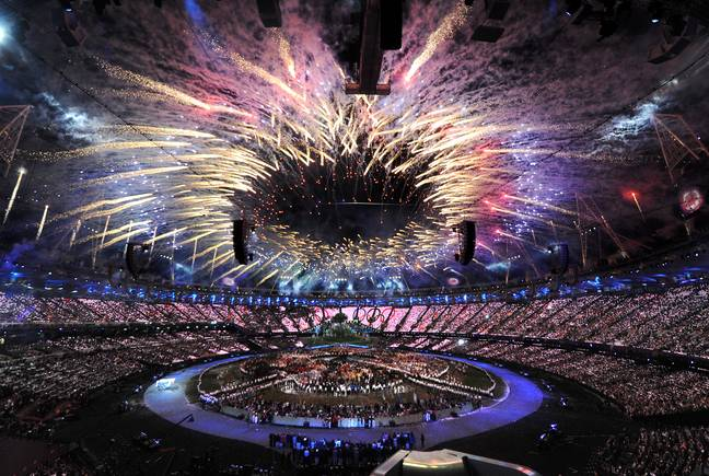 London Olympic Games opening ceremony (PA)