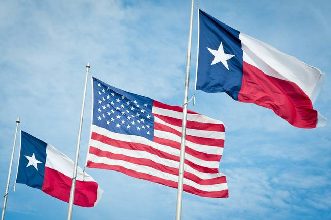Texas flag (PA Images)