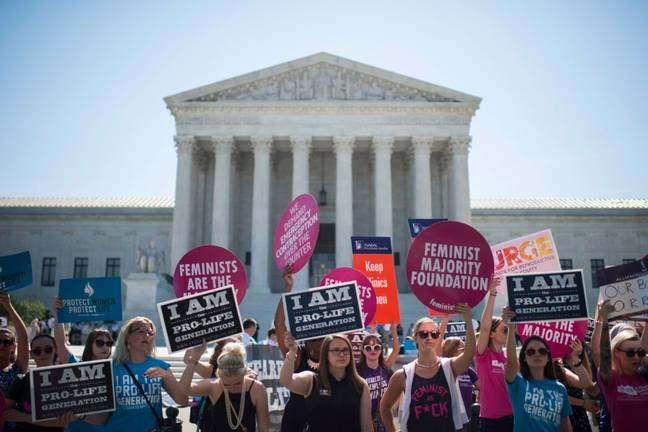 30 towns in Texas have passed legislation banning abortion (PA Images)